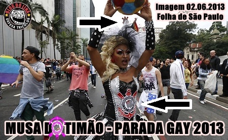 Musa do Timao Parada Gay 2013